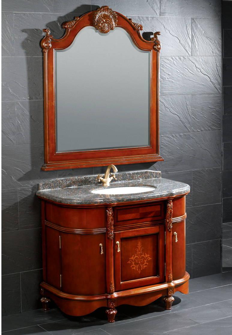 实木浴室柜_
