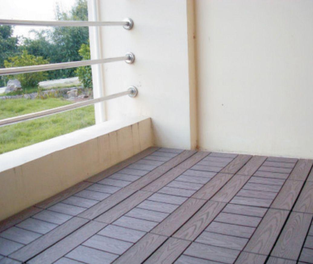 diy地板效果图 - 秦川生态木