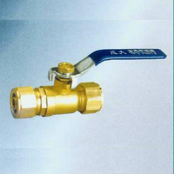 RO-05鍛壓黃銅等徑鋁塑管球閥-- 成大閥門