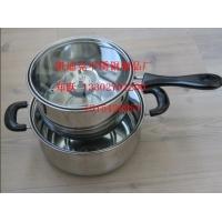 不锈钢汤锅/火锅/奶锅,无磁复底 质量可靠