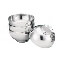 不锈钢双层碗/隔热汤碗,质量保证