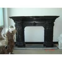 黑色大理石壁炉