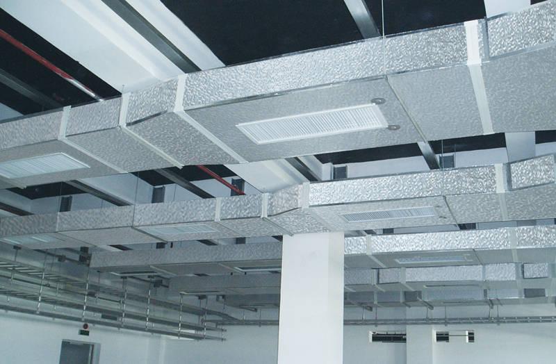 减少热传导能耗 复合材料属于保温材料,不需要二次保温,风管导热系数