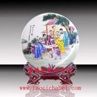 纪念品定做、陶瓷纪念盘厂家、工艺礼品陶瓷纪念盘