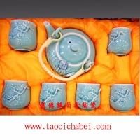 批发景德镇陶瓷定做厂家、陶瓷茶具、高档青花茶具价格