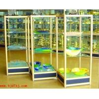 北京展示架 展柜,钛合金货架定做