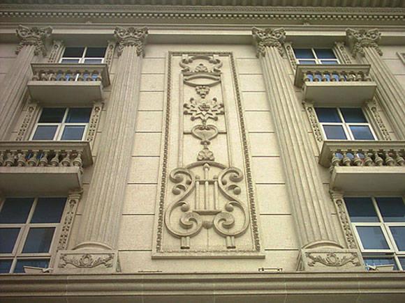 欧式建筑-crc白麻石