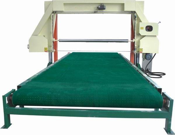 东莞海绵切割机丨海绵网带吸风平切机丨海绵生产设备