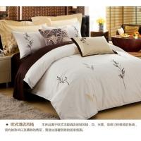生产床品四件套、多件套、纯棉床单被套批发 酒店床品四件套定制