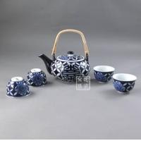 供应窑盛陶瓷青花玲珑茶具、功夫茶具