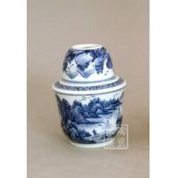 供应窑盛陶瓷青花手绘温酒壶、日用瓷
