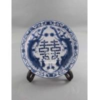 供应景德镇窑盛陶瓷节庆纪念瓷盘,婚庆礼品瓷,庆典礼品