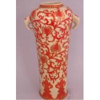 供应景德镇窑盛陶瓷斗彩象耳瓶、居家摆件饰品