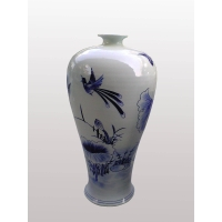 供应景德镇窑盛陶瓷大件青花梅瓶