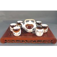 供应景德镇窑盛陶瓷玲珑茶具、日用礼品茶具