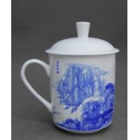 供应景德镇窑盛陶瓷、办公会议杯、周年纪念、商业礼品