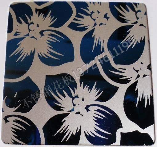 彩色不锈钢花纹板sk-1003