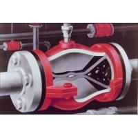 A型管夹阀 美国红阀 进口阀门流量阀