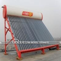 军峰雪太阳能热水器整体容积350升30支管 锁热水箱