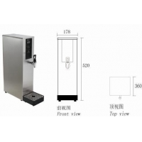四川奶茶店专用吧台开水机 成吉润吉之美步进式吧台机专卖