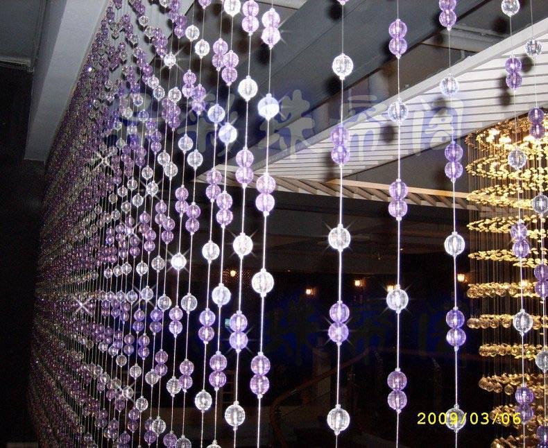 南京尖森艺术玻璃-珠帘