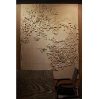 深圳客厅砂岩浮雕背景墙    砂岩浮雕壁画