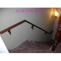 南京鑫丰实木楼梯定做-实木红橡墙托扶手XF-A45