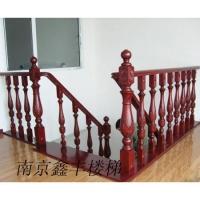 南京木楼梯-鑫丰实木楼梯-柱子扶手 XF-A01