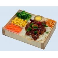 木制快餐盒
