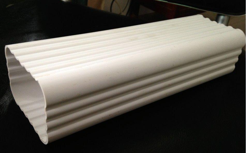 超磊PVC落水系统 方型雨水管下水管落水管
