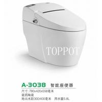 TOPPOT卫浴电脑智能马桶 一体式智能马桶 自动冲水烘干座