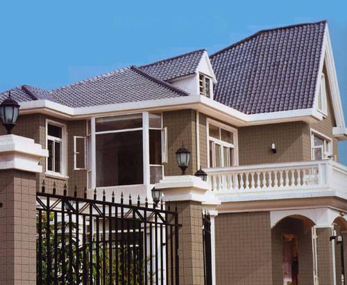 恒达陶瓷-外墙砖-瓷质通体砖系列-产品效果图