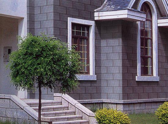 恒达陶瓷-外墙砖-艺术仿石系列-效果图