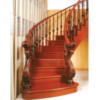南京樓梯-高升樓梯-南京實木樓梯