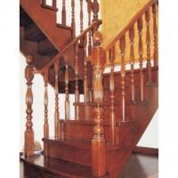 南京楼梯-高升楼梯-南京实木楼梯