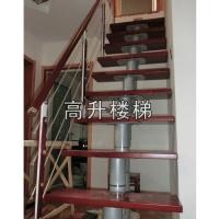 南京钢木楼梯-高升楼梯-GS-GM001