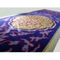 雅俊地毯 大花朵 手工枪刺地毯