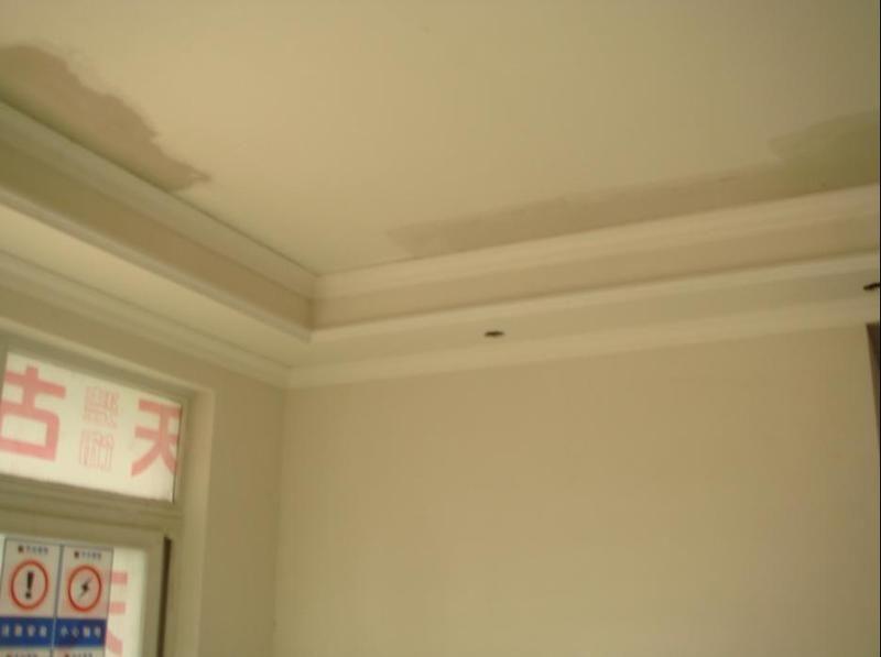 石膏阴角客厅 卧室边吊 重庆装修日记 高清图片