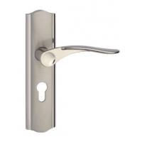 室内门铝合金执手锁-机械门锁