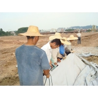 清远从化 短纤土工布  养护土工布 施工工艺