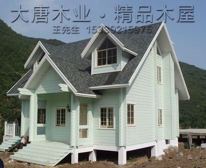 度假木屋 设计图纸展示