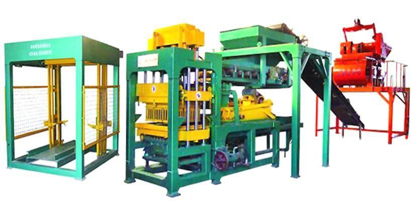 新疆全自动砖机 液压水泥制砖机图片