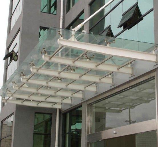 湖州办公楼雨棚 湖州钢结构雨棚
