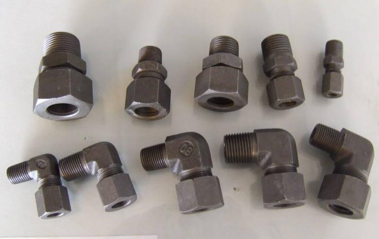 液压管接头型号有哪些的答:国内主要是a,b,c,h型,a型最常见,是平面图片