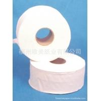 福州唯美纸业 大卷纸巾盘纸批发 专业定做钱夹纸广告抽纸卷纸