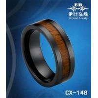 陶瓷镶木皮戒指|陶瓷镶木皮戒指生产厂家|价格优惠