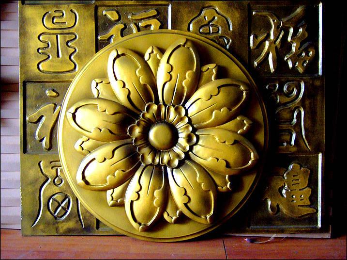 欧式佛龛装饰墙