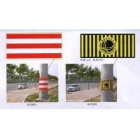 三红两白、黄黑国网徽防撞反光警示贴