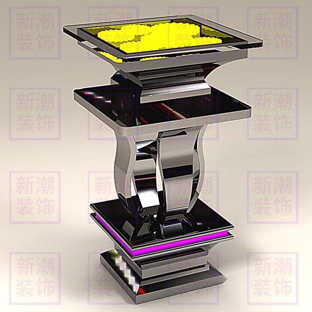 成都不锈钢吧桌