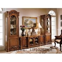 电视柜美式电视柜、欧式家具定制、新古典家具定制